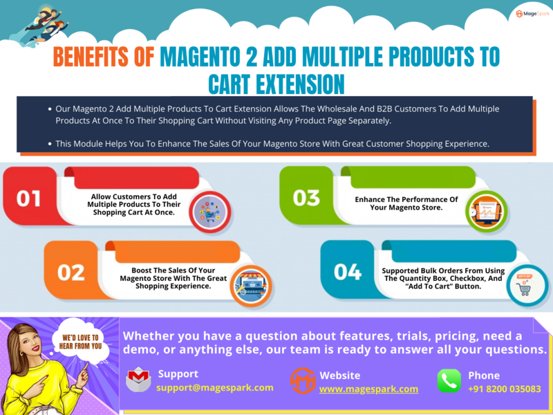 Magento 2 Add Multiple Products to Cart Extension magento upgradation services magento upgradation services