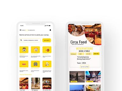 AFRICAN FOOD INTERNTIONAL UI minimal typography app branding ui ux design