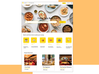 African Food Incorporated Design app ui ux design