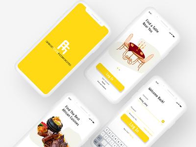 AFI LOGIN PAGE design app ui ux