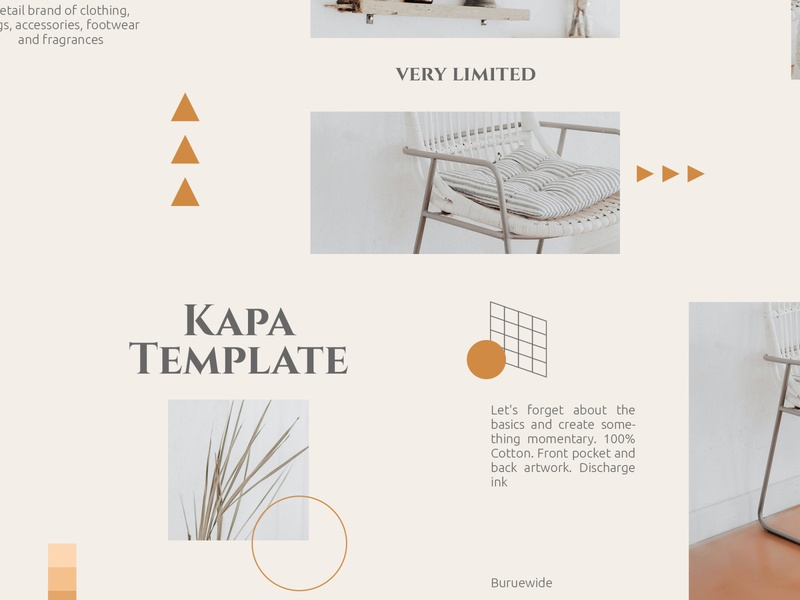 Kapa Template Vol.01 sans serif sans typography layout carousel post instagram post instagram post template