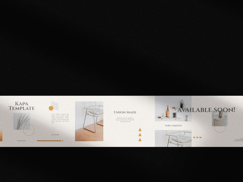 Kapa Template Vol.01 display sans sans serif logo design instagram illustration iconography icon carousel post logo