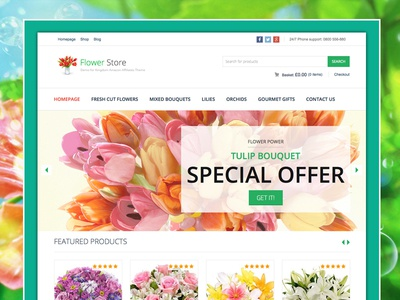Kingdom - Woocommerce Amazon Affiliates Theme kingdom woocommerce amazon affiliates store flower