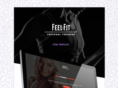 Feel Fit - Personal Trainer personal trainer fitness trainer personal trainer template fitness template