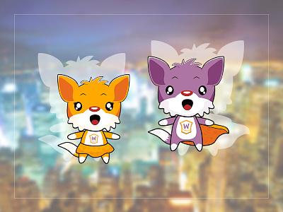 Fox Mascot for WooZone fox mascot mascot woozone mascot