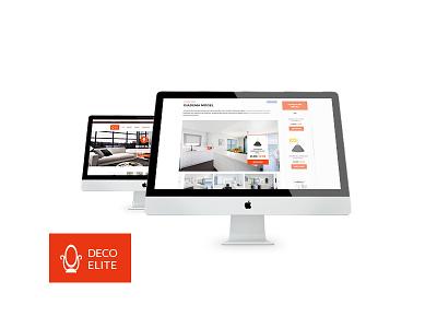 Deco Elite - Interior Design eCommerce Theme project collections interior designers interior design furniture websites dream home design agencies deco elite