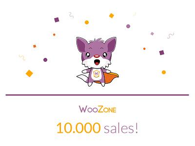 Congrats WooZone! woozone 10k sales woozone