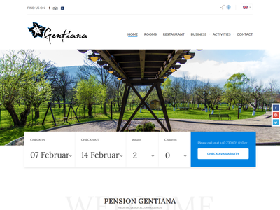 Hotel Website pension hotel