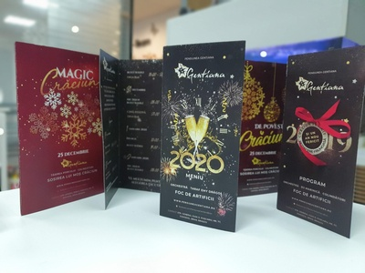 Christmas / New Year Brochures christmas card brochures new year christmas