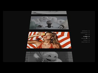 ⚡️ Fast Navigation webgl transition portfolio animation navigation ux menu