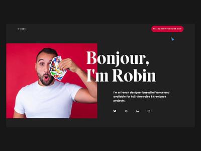 About 🧔🏻 logos drag headshot animation hover designer portfolio about