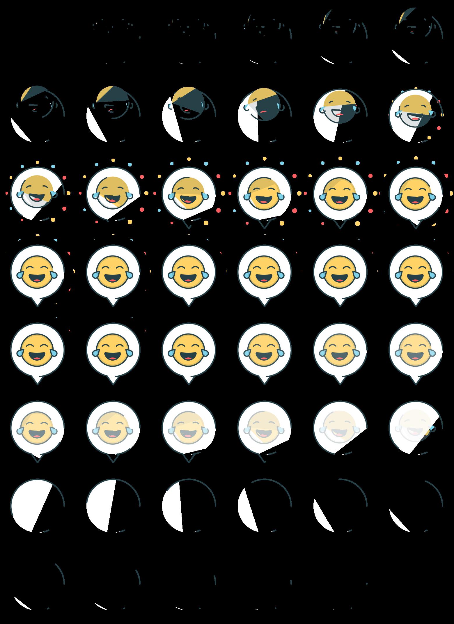 Dribbble - 3_bubble-emoji png by Robin Noguier