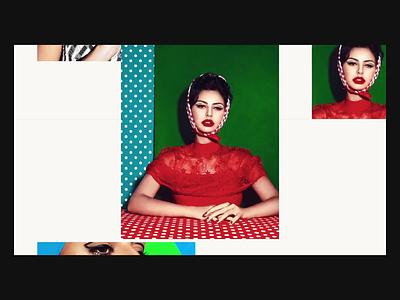 Serie - Zoom Concept portfolio photography portfolio photography grid photo serie ui interaction zoom