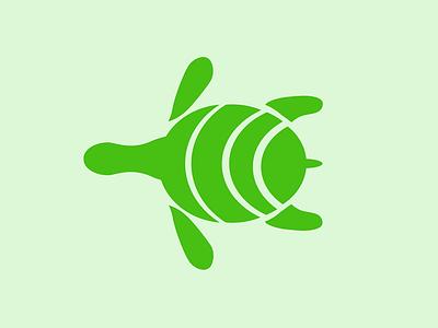 Turtle turtle illustrator logo