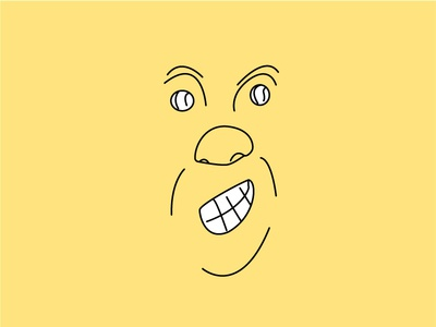 Smiley illustration face vector sketch