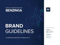 Brand Guidelines Benzinga