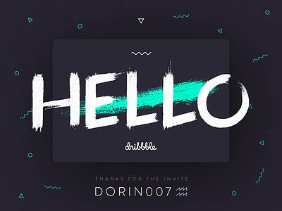 Zoren Says Hello hello welcome nice debut