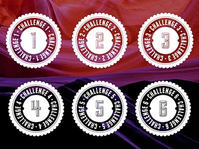 Challenge Medallions challenge badge losttype sullivan franchise