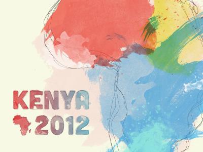 Kenya watercolor dribbble