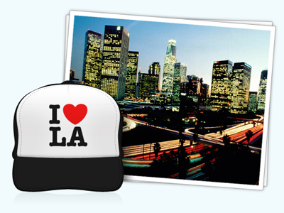 I Heart LA la los angeles jobs photo ui icon