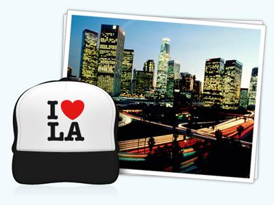 I Heart LA la los angeles jobs photo ui icon