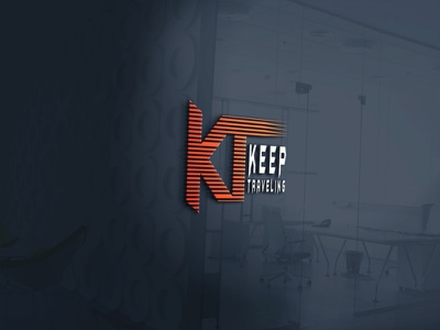 Logo with K & T art logotype logo design logodesign brand identity logo illustration branding graphic design design