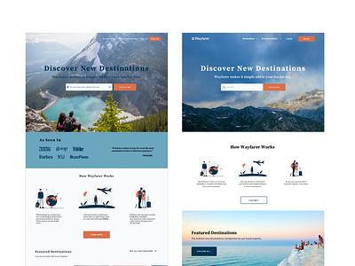 V1 vs. V4 branding uxuidesign uidesign uxdesign website illustration web ux ui design