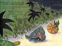 Children's Book Spread (part 1) magic beach shells painting photoshop ink traditional art book design book illustration illustrator childrens illustration children book illustration illustration