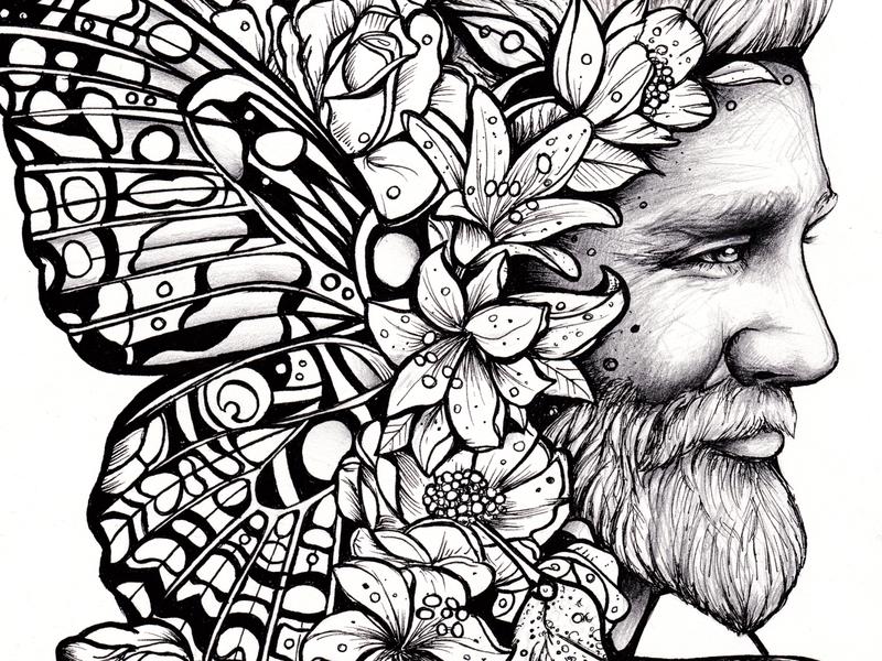 SON OF THE SUN  by Sofia Castellanos mural web digitalart pencil drawing illustrator sketching sketch procreate illustration artwork artist art