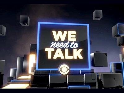 We Need To Talk made for tv design sports typography motion tv identity logo type