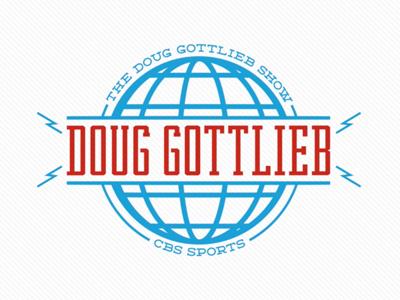 The Doug Gottlieb Show retro tv sports motion radio branding identity logo