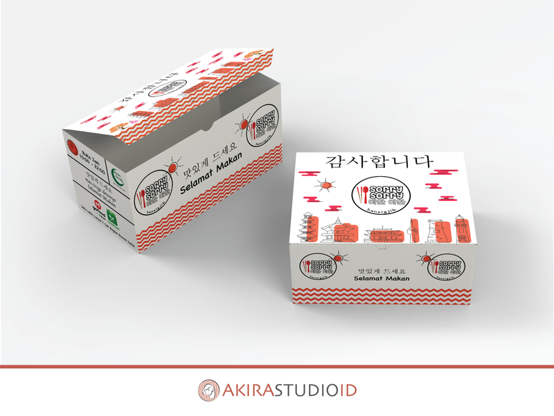 Take Away Korean Food Packaging asian food korean take away box packaging design box packaging box design box food package korean food food packaging design food packaging packaging design packaging design