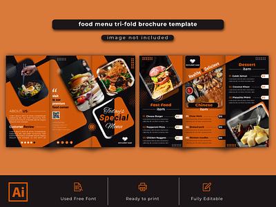 trifold restaurant food menu layout bannerjohorbahru bannerjogjamurah bannerjet bannerdesain bannerdeletras bannercreation bannerchange bannercard bannercake