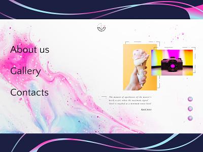 L&Co UI Design Concept uxui minimalism ui design uidesign uiux photography website colors art website design minimal web ux ui
