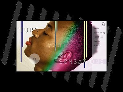 Fashion Magazine UI Design Concept website design minimal web design minimalism webdesign web ui ux uiux uxui ui design uidesign