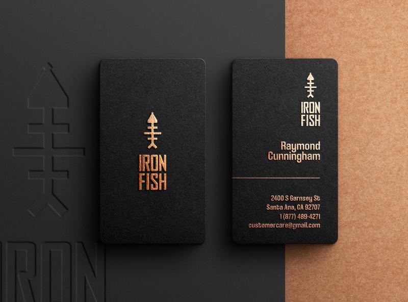 Letterpress business cards design black real estate foil stamp branding logo minimalist business card design letterpress