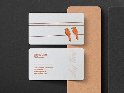 Gold foil business card design professional design letterpress branding business card logo minimalist foil stamp