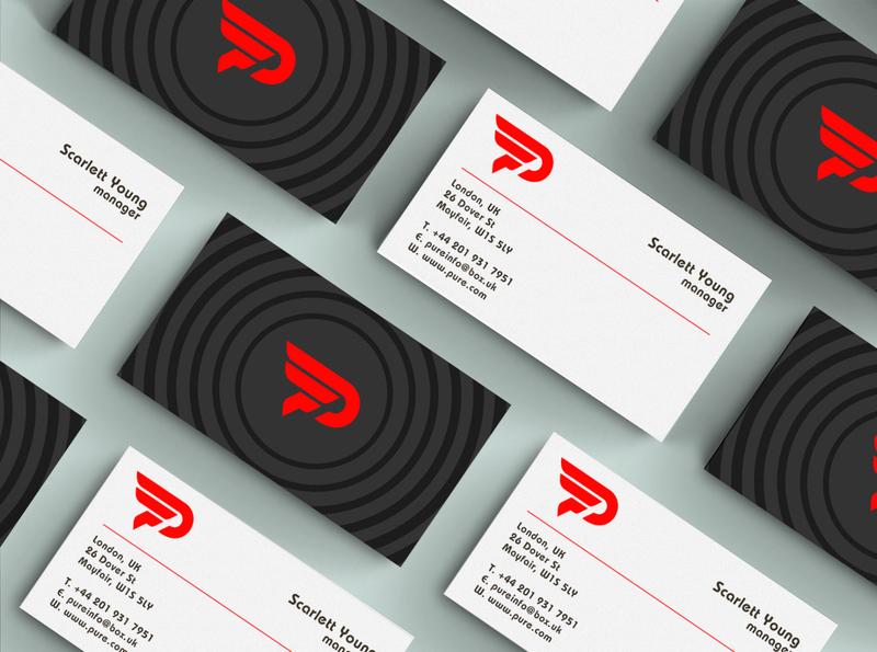 Minimal business cards design branding vector real estate logo business card design professional business card minimal