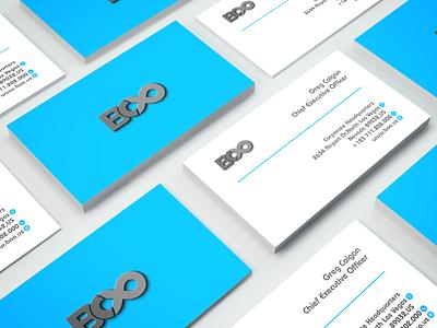 Minimal business cards design blue vector real estate business card design professional foil stamp branding business card logo minimalist