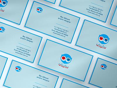 Minimal business cards design illustration minimal blue business card design real estate professional branding logo business card minimalist