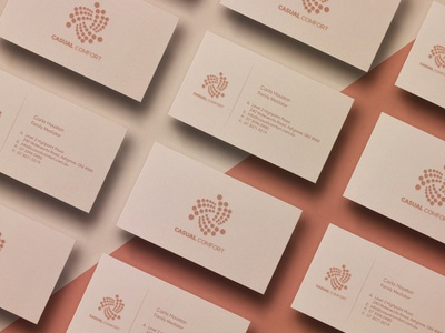 MINIMAL BUSINESS CARDS DESIGN pastel colors creative card clean card name card brand identity logo graphicdesign business cards minimal