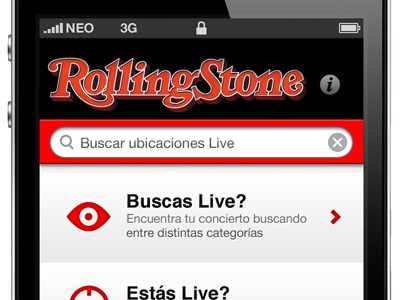 iPhone Mockup iphone app interface