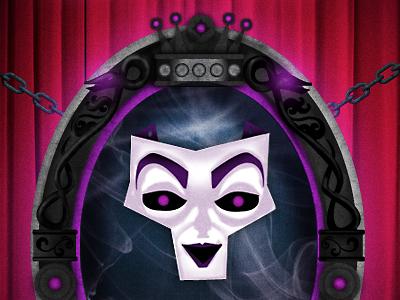 Magic Mirror Facebook App illustration facebook app