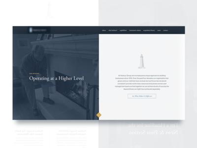 PE design split ui web