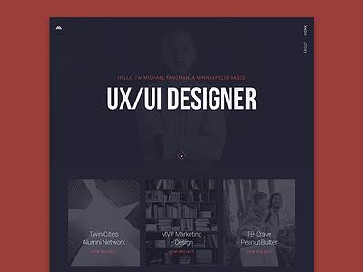 Portfolio Site ux portfolio design web portfolio