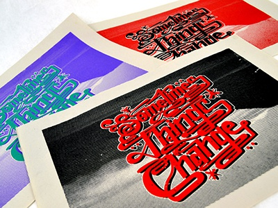 Sometimes Things Change silkscreen sometimes things change tyler stockdale prints printmaking
