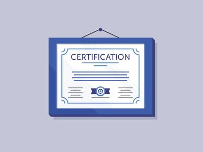 Certification tyler stockdale killer infographics clean frame diploma certificate