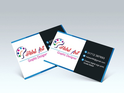 Business Card Design vector design creative design branding
