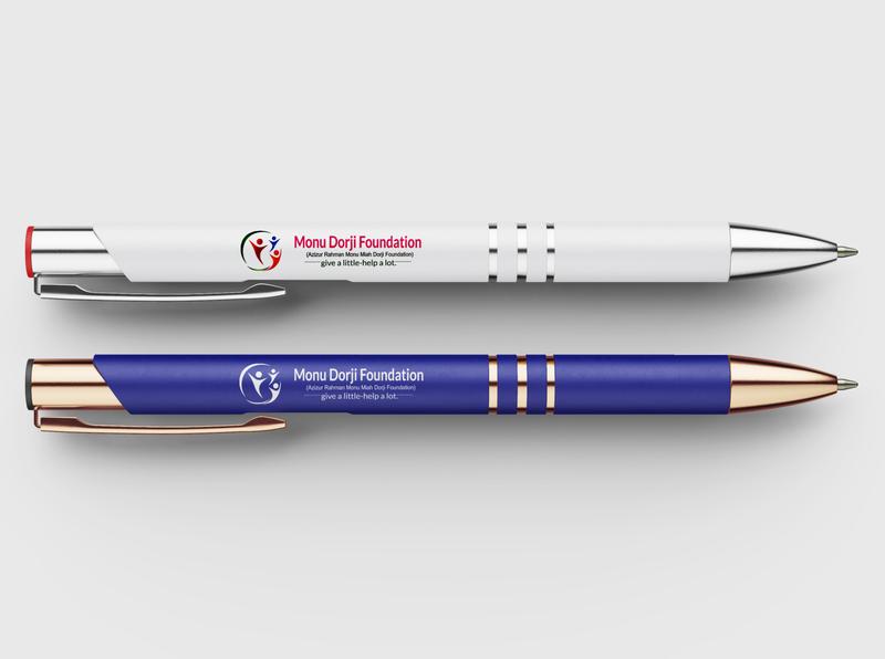 Pen Design logo design custom design illustrator design creative design branding