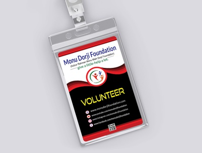 Badge Identity Card identity branding identity design vector creative design branding id card design identity card design